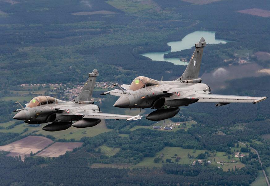フランスのラファール(Image:USAF)