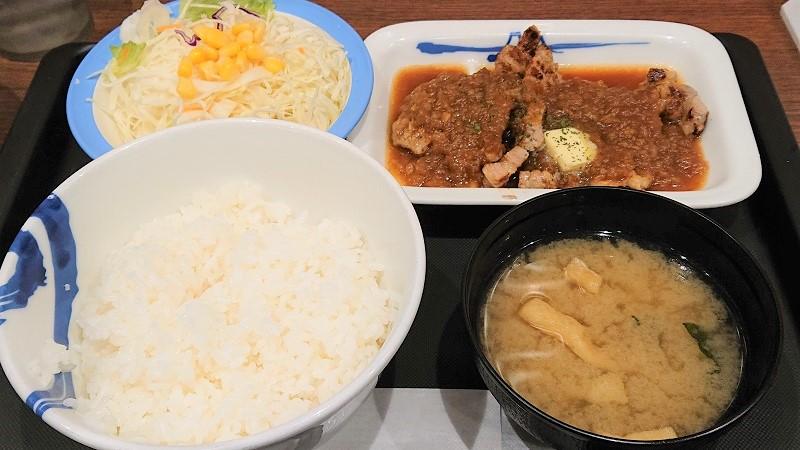「厚切りトンテキ定食」(税込730円)