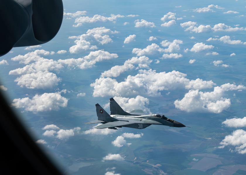 ブルガリア空軍のMiG-29(Image:USAF)