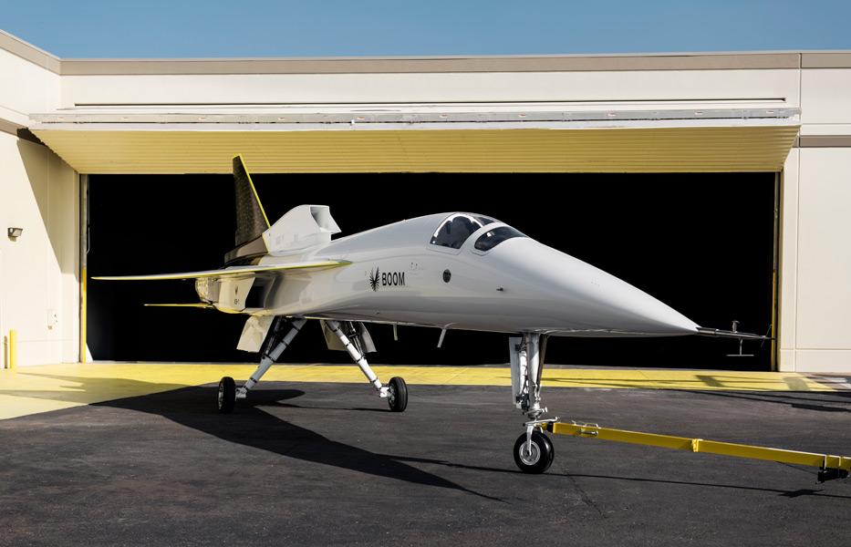 技術実証機XB-1(Image:Boom Supersonic)