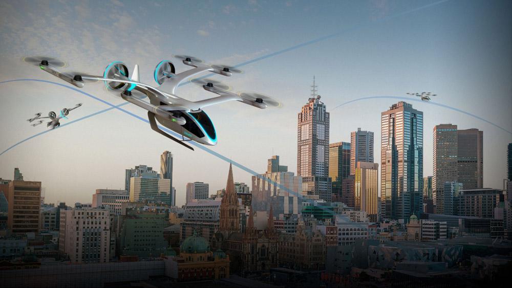 EVEのeVTOLは管制システムも同時に開発される(Image:Eve Urban Air Mobility Solutions)