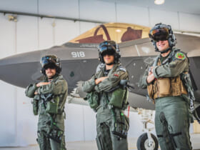 イスラエル空軍のF-35パイロット(Image:イスラエル空軍)