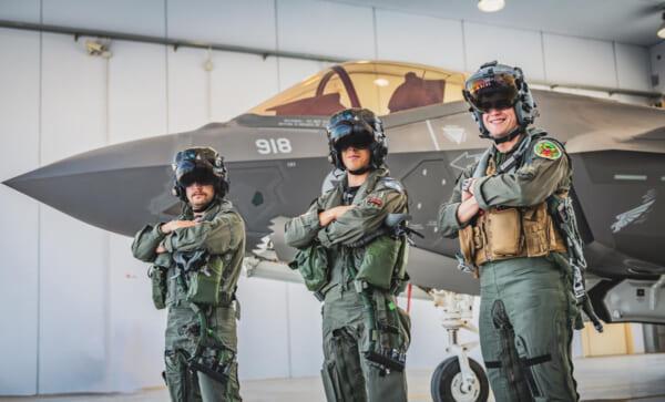 4か国のF-35が集合!イタリアで共同訓練「ファルコン・ストライク」実施中