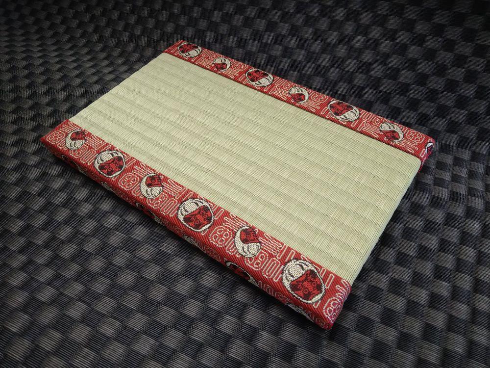 ダルマ模様の畳縁。