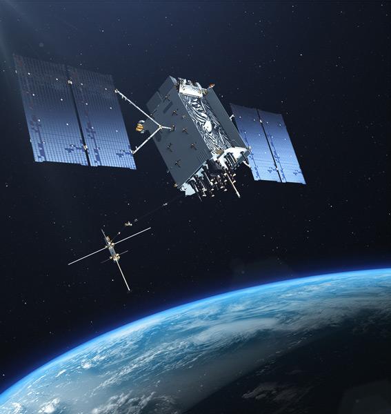 GPS IIIのイラスト(Image:Lockheed Martin)