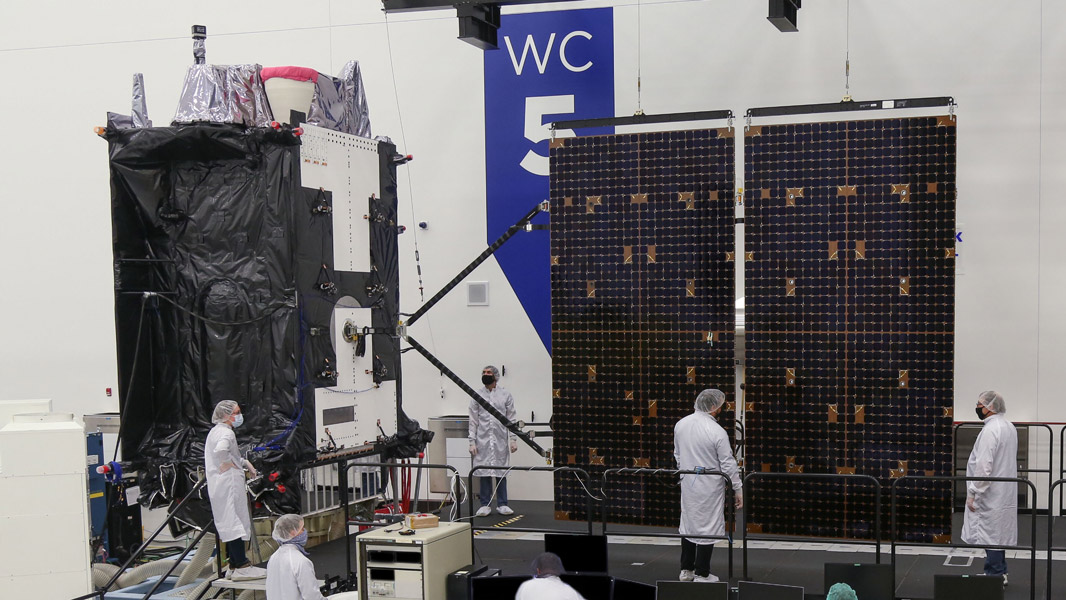 GPS IIIの5号機(Image:Lockheed Martin)