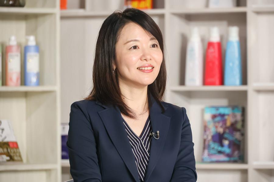 P&Gジャパンの女性管理職である市川薫さん