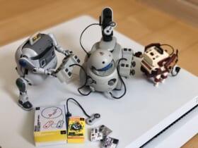 「スーファミ」「ファミコン」「プレイステーション」……往年の名作ハードがロボット模型で再現!