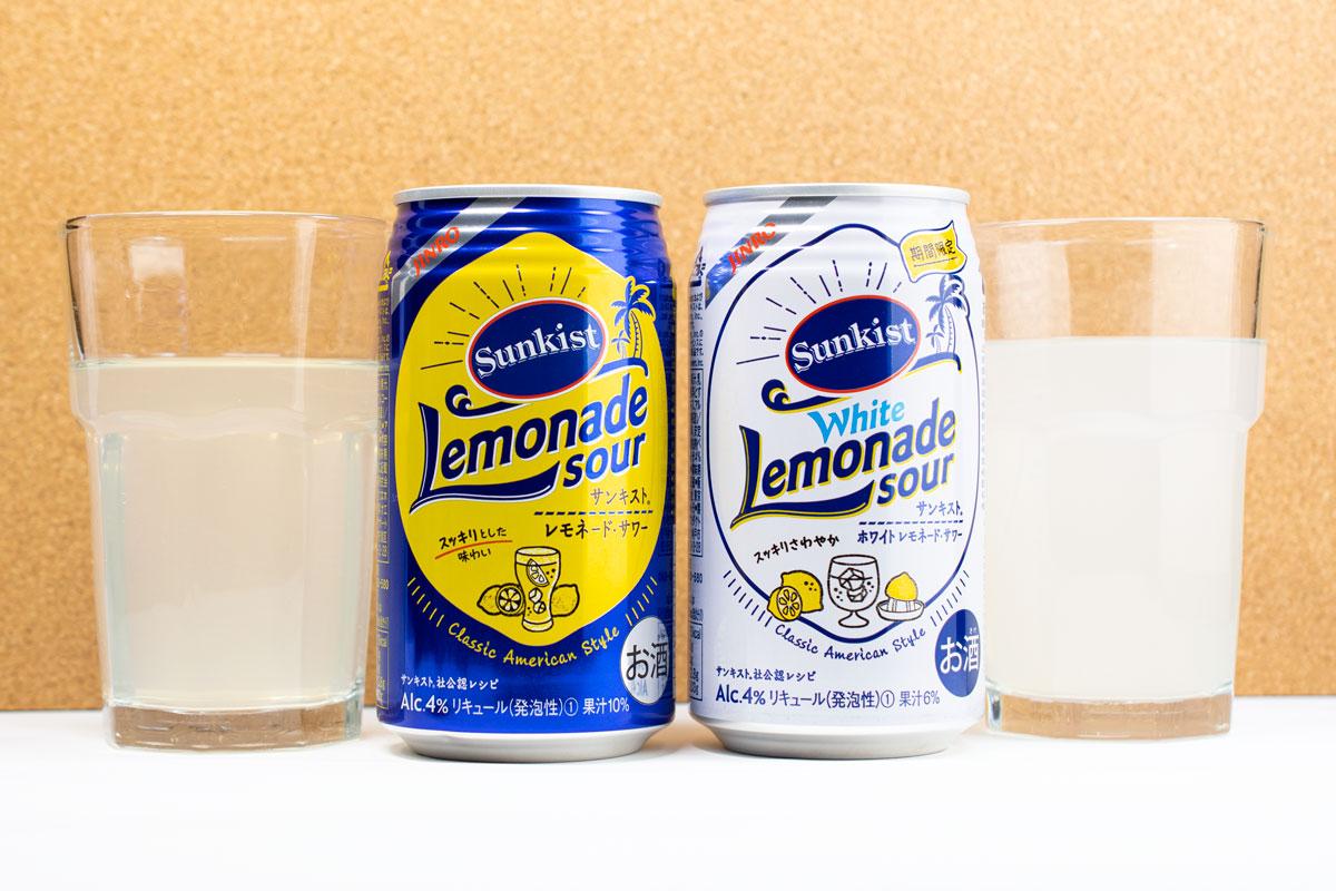 レモンの風味に乳性の爽やかさをプラス「サンキスト(R) ホワイトレモネード・サワー」飲んでみた
