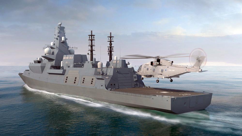 26型(シティ級)フリゲート(Image:BAE Systems)