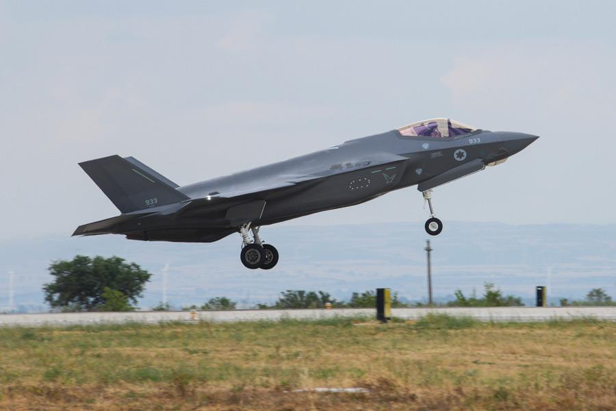 イスラエル空軍のF-35A(Image:USAF)