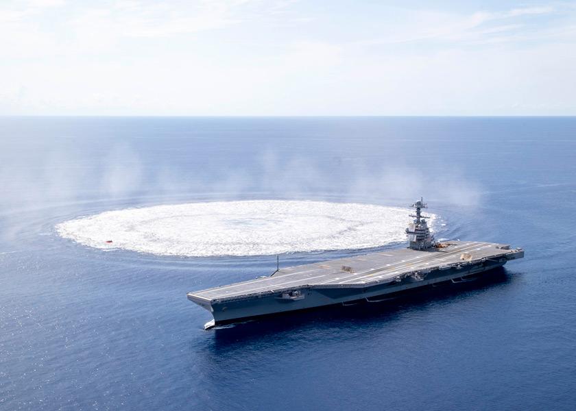 波となって広がる(Image:U.S.Navy)