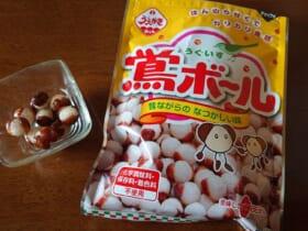 関西では知名度抜群の大正義お菓子 植垣米菓「鴬ボール」知ってる?