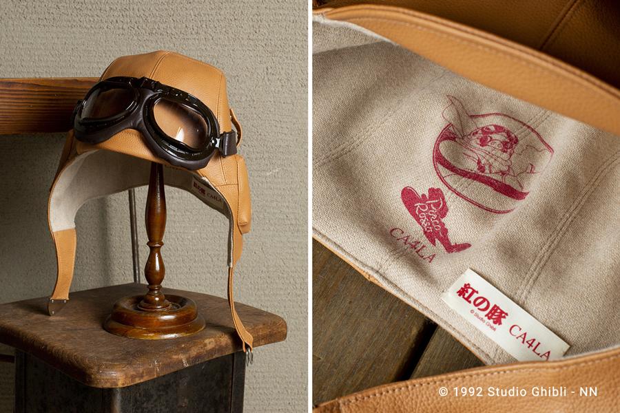 本体・ゴーグルともに姫路産の上質な牛革を使用