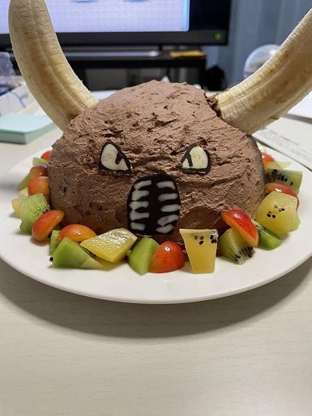 妻が誕生日にキャラケーキを自作 選んだキャラクターに衝撃