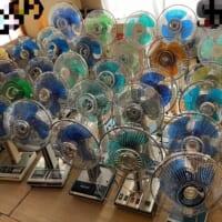 「勢いが止まらない」扇風機を収集する高校生の自宅…
