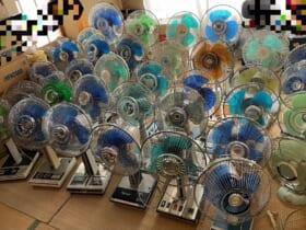 「勢いが止まらない」扇風機を収集する高校生の自宅が圧巻の光景