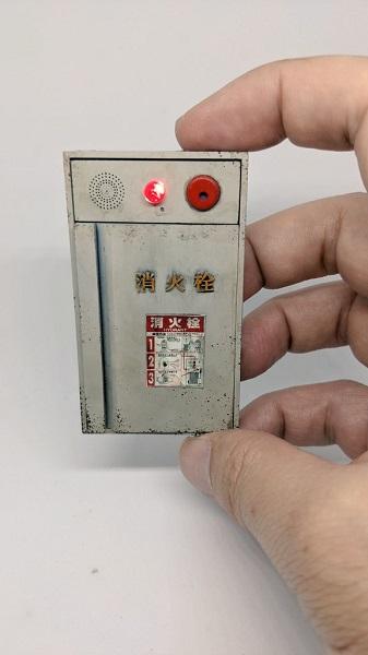昭和感ただよう「ミニチュア消火栓」が本物そっくり