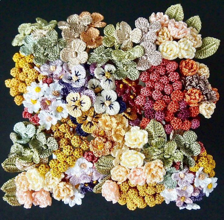 同系色の絹糸を複数使用したりとこだわりの作品となっています。