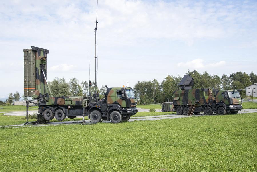 EurosamのSAMP/T(Image:スイス連邦防衛・国民保護・スポーツ省)