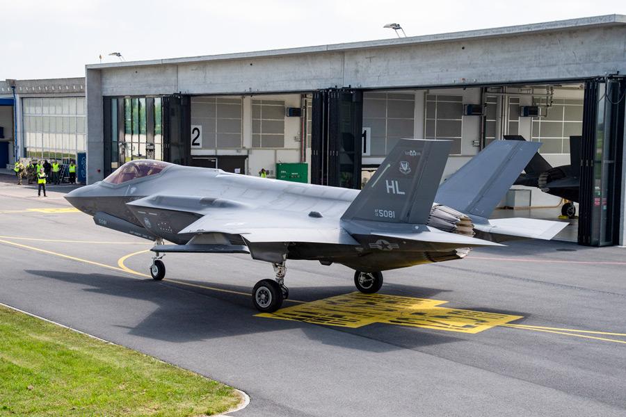評価試験を受けるF-35A(Image:スイス連邦防衛・国民保護・スポーツ省)