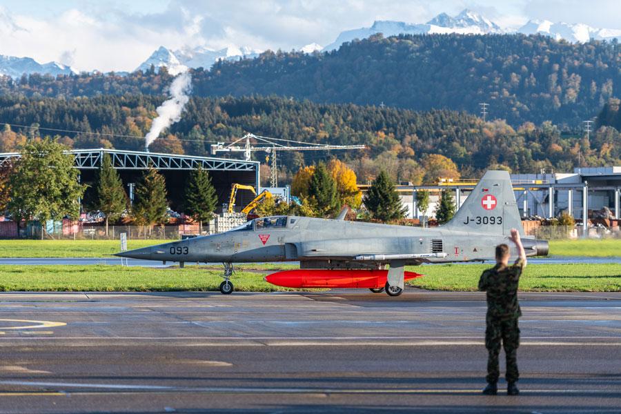 スイス空軍のF-5E(Image:スイス連邦防衛・国民保護・スポーツ省)