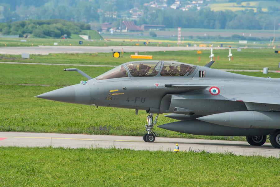 スイス空軍の評価試験を受けるラファール(Image:スイス連邦防衛・国民保護・スポーツ省)
