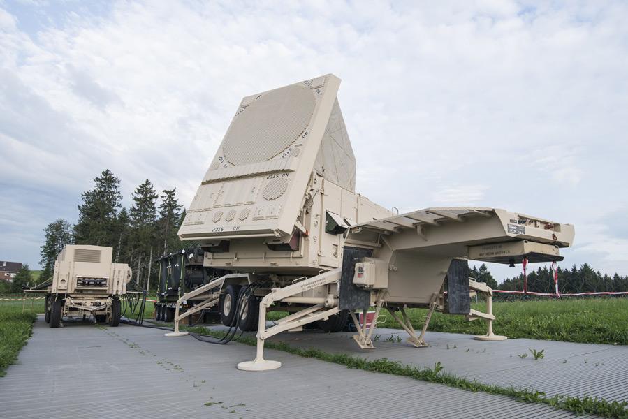 ペトリオットのレーダー(Image:スイス連邦防衛・国民保護・スポーツ省)
