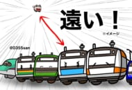 「JR東京駅 京葉線ホーム」を表したイラスト投稿が反響。
