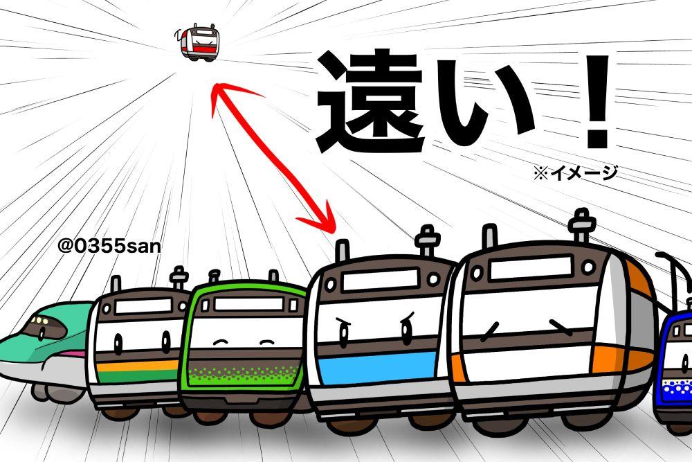 利用経験者は思わず納得 JR東京駅「京葉線ホーム」までの距離感を表したイラストが秀逸
