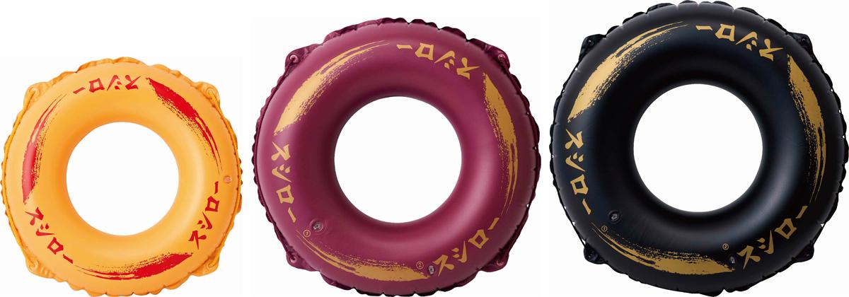 スシローのお皿が浮き輪に 流れるプールで回転寿司になった気分が味わえる「スシローコラボ浮き輪」が発売