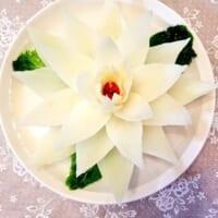 中華スープをかけると白菜の花が咲く!開水白菜が綺…
