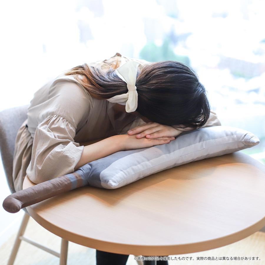 枕としても使っても気持ちよさそう