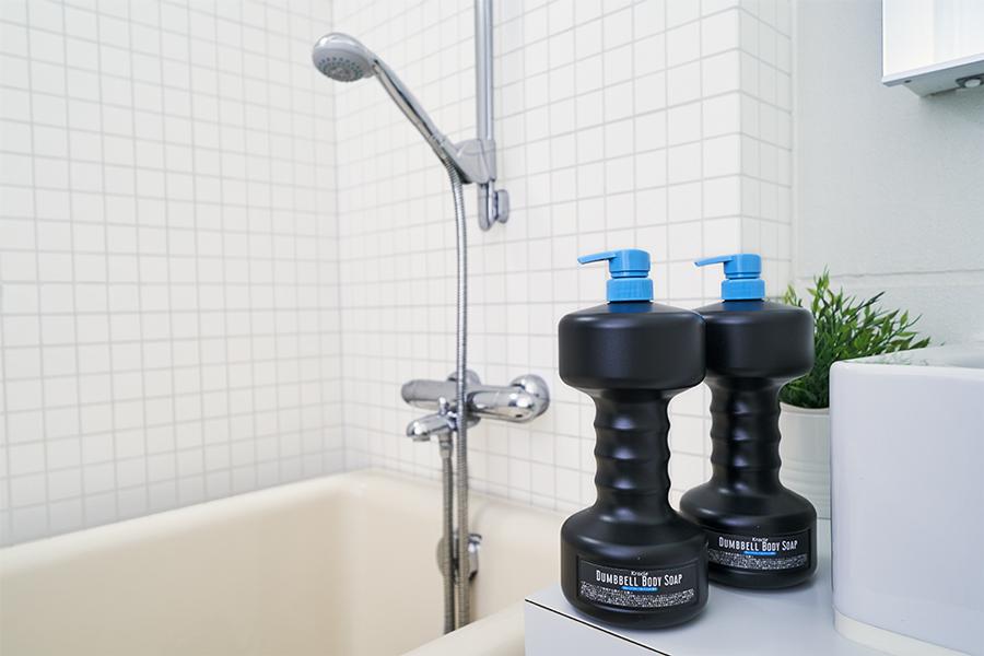 お風呂場で手軽に筋トレができるアイテム
