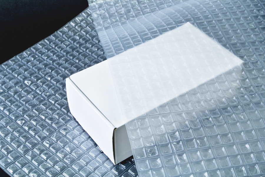 梱包するもののサイズに合わせて包みやすいのも特徴