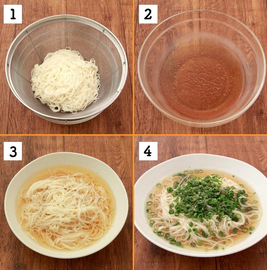 調理はとても簡単でした