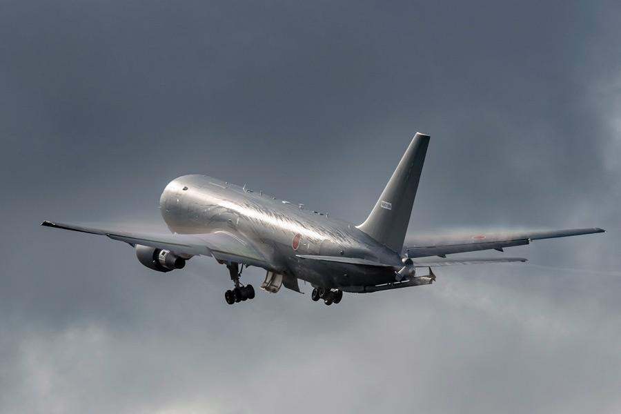 初飛行する航空自衛隊向けKC-46Aの1号機(Image:Boeing)