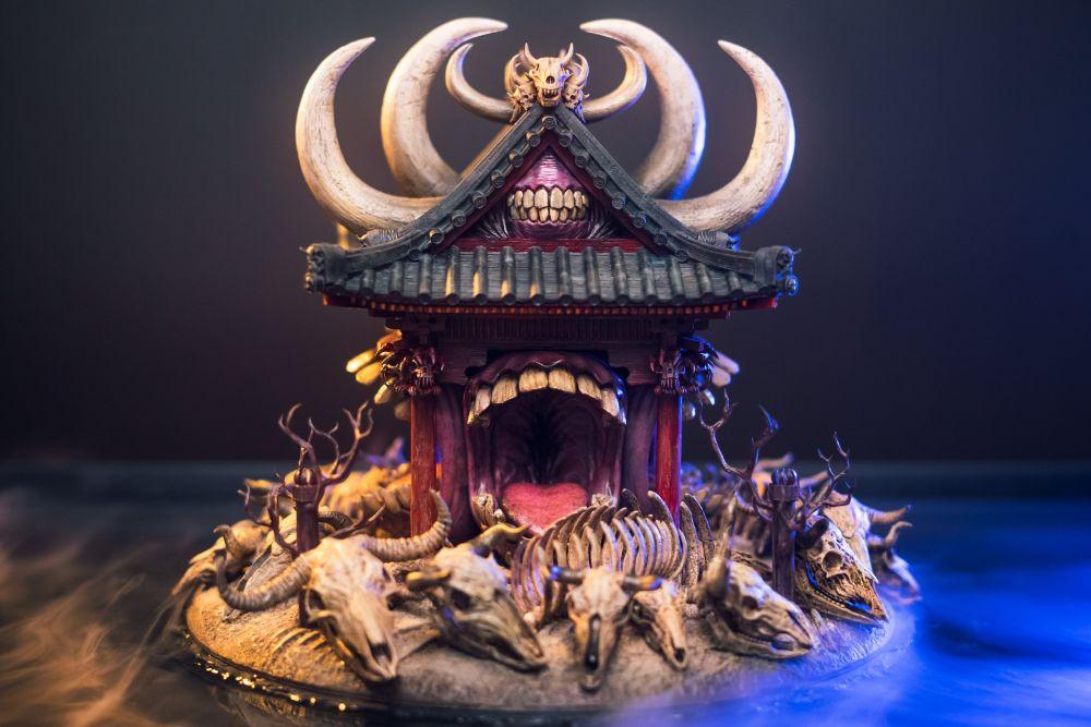 超工作のファンアート 呪術廻戦「伏魔御厨子」が現実世界へ領域展開
