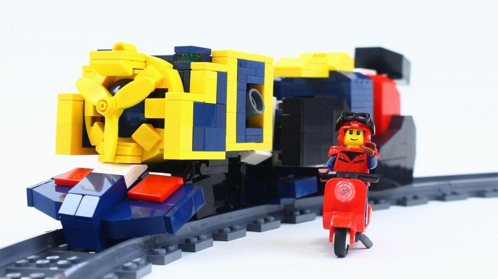あなたは嵐を呼ぶ社長ニキ!? 勇者特急LEGOガイン定刻通りに只今到着!