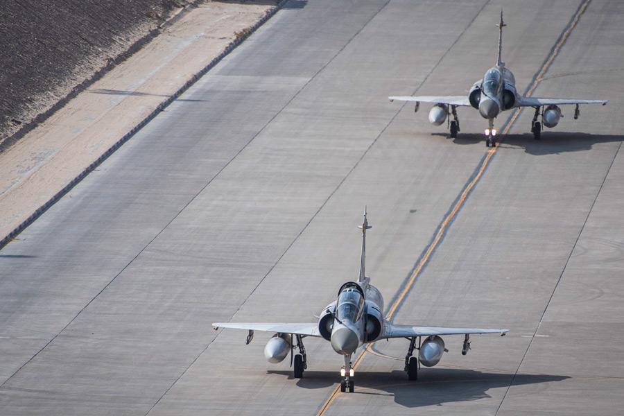 カタール空軍のミラージュ2000-5(Image:USAF)