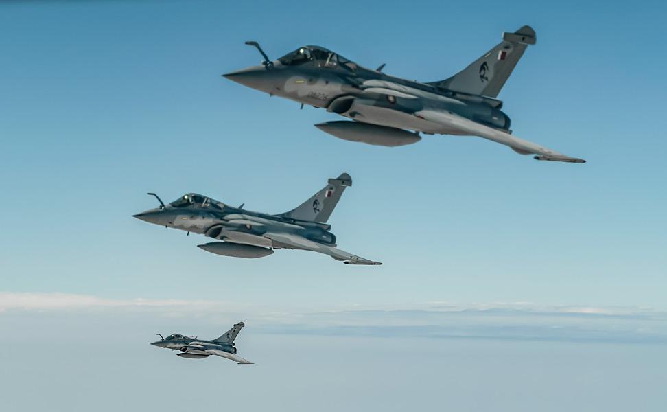 カタール空軍のラファール(Image:USAF)