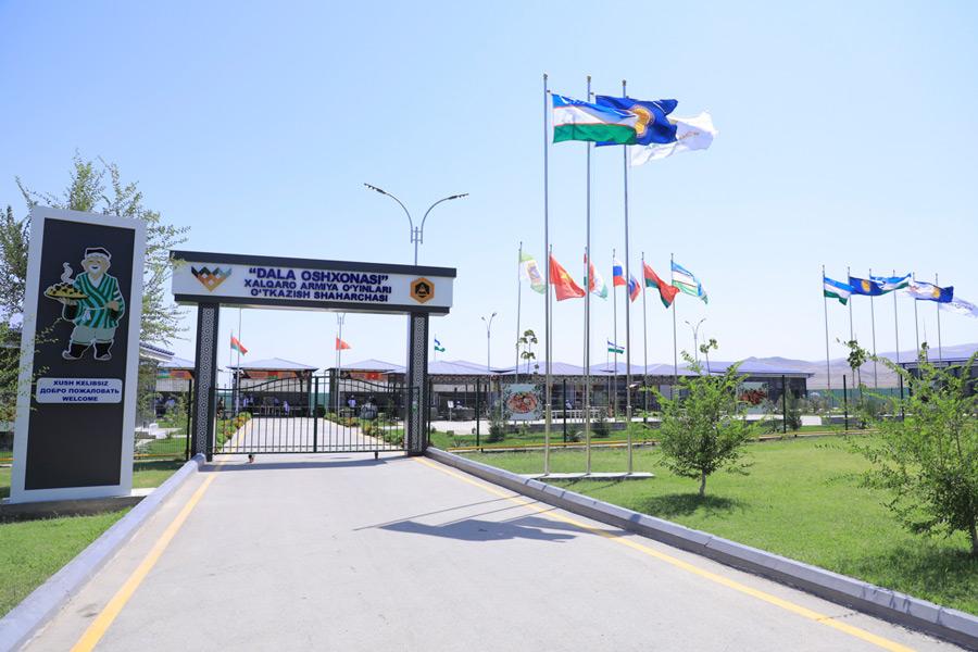 「フィールドキッチン」会場のファリシュ訓練場(Image:ロシア国防省)