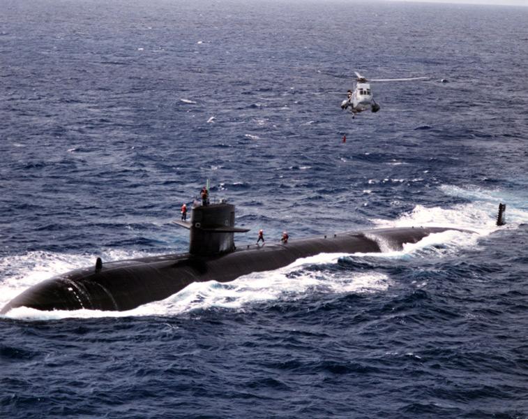 初代の潜水艦ハイマン・G・リッコーヴァー(SSN-709)(Image:U.S.Navy)