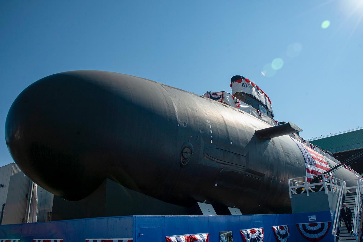 潜水艦ハイマン・G・リッコーヴァー(SSN-795)命名式(Image:U.S.Navy)