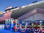 潜水艦ハイマン・G・リッコーヴァー(SSN-795)の命名式(Image:U.S.Navy)