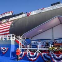アメリカ原子力潜水艦リッコーヴァー命名式 由来はアメリカ「原…