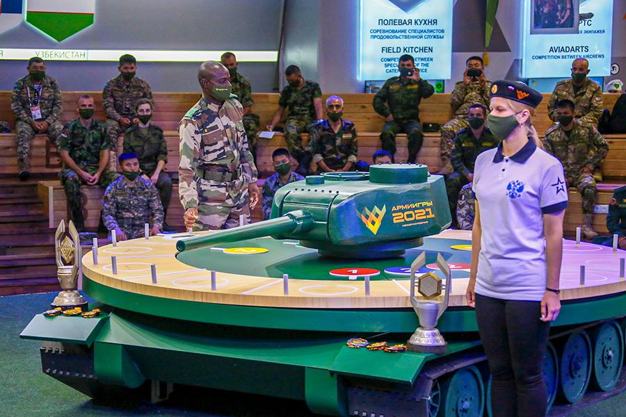 「戦車バイアスロン世界選手権2021」組み合わせ抽選会(Image:ロシア国防省)