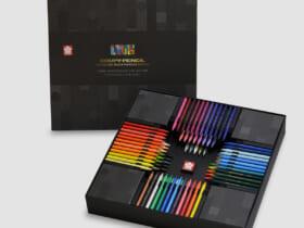 クーピーペンシル100色 ブラックパッケージエディション
