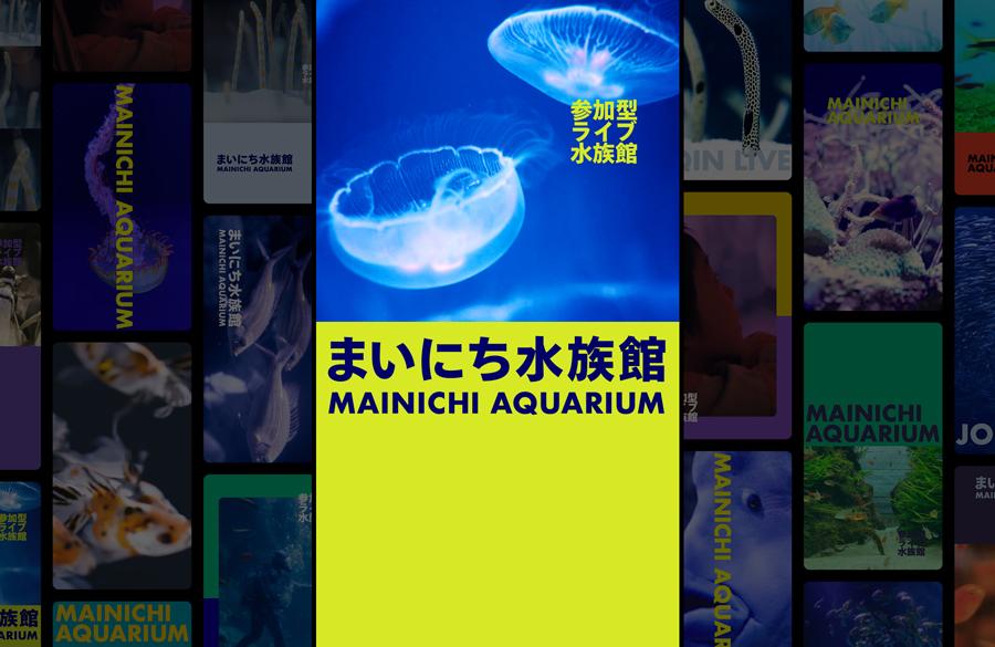 参加型ライブ水族館「まいにち水族館」