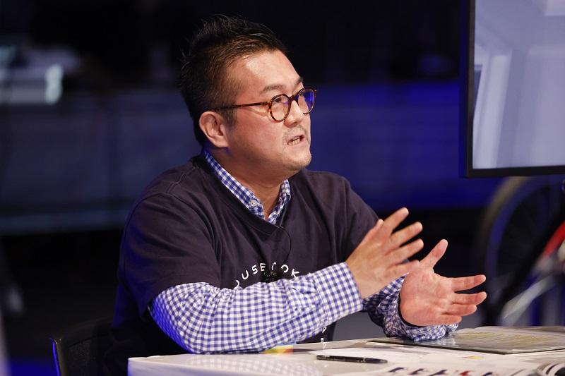 認定NPO法人グッド・エイジング・エールズ代表でプライドハウス東京の代表でもある松中権氏